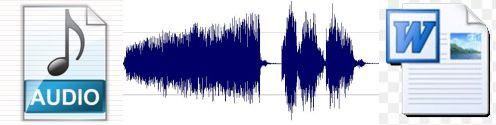 Para pasar Audio a Texto
