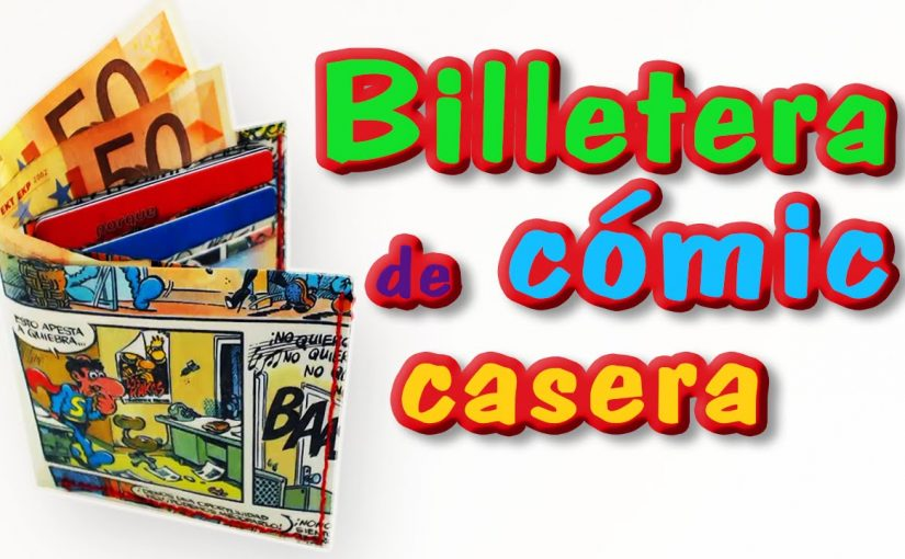 Cartera/Billetera de Comic